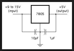 5v electronic circuit